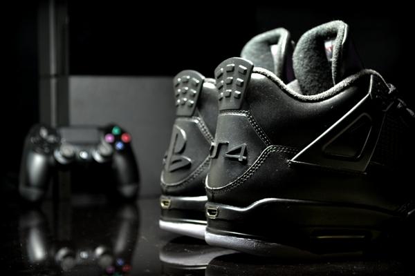 Air Jordan 4 PS4 Custom 02
