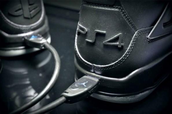 Air Jordan 4 PS4 Custom 05