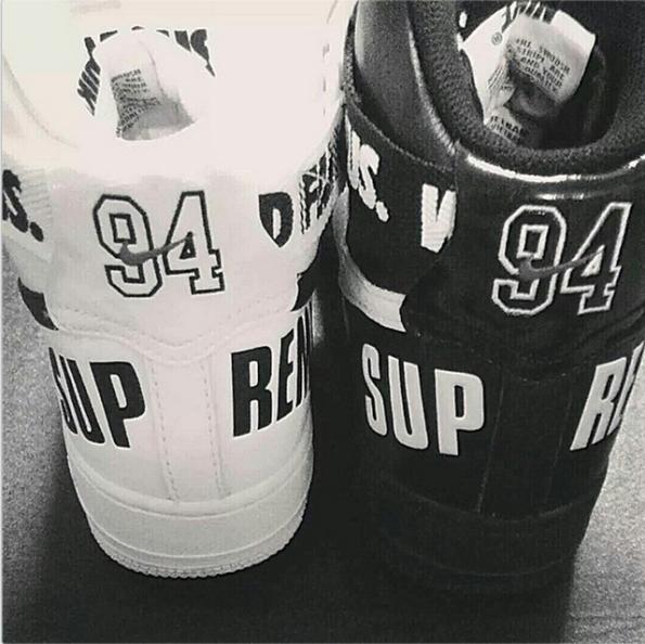 Nike Air Force 1 Pack x Supreme 04