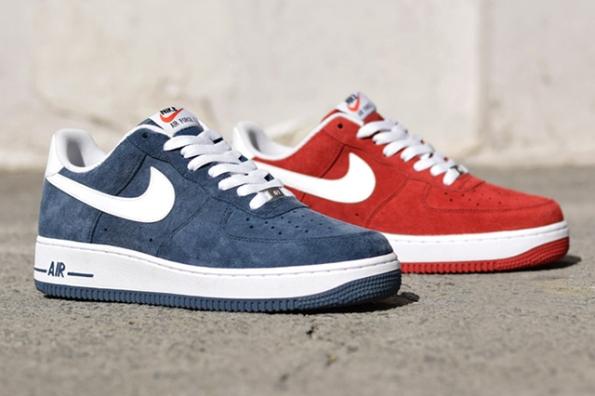 Nike Air Force 1 Suede Pack 02