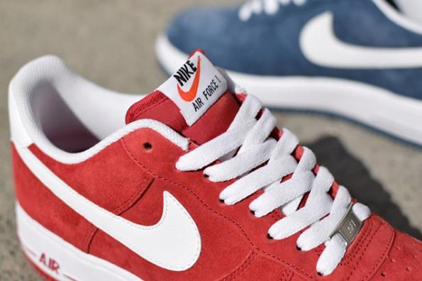 Nike Air Force 1 Suede Pack 04