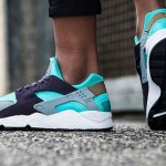 "Nike Woman Air Huarache ""Purple Turquoise"""