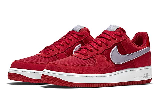 Nike Air Force 1 Gym Red Wolf Grey 01