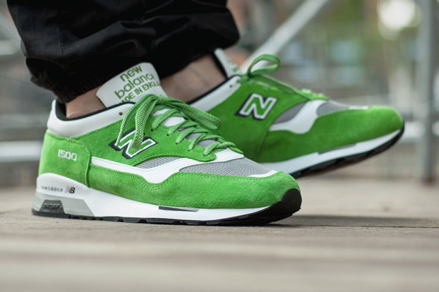 New Balance 1500 Made in UK Lime Green 01