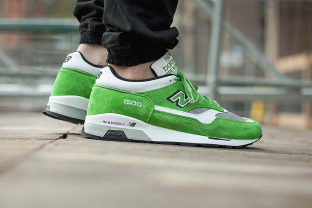 New Balance 1500 Made in UK Lime Green 02