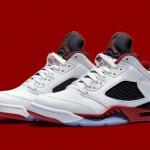 """Air Jordan 5 Low """"Fire Red"""""""