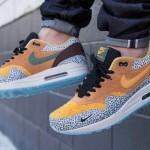 """Nike Air Max 1 """"Safari"""" x Atmos"""