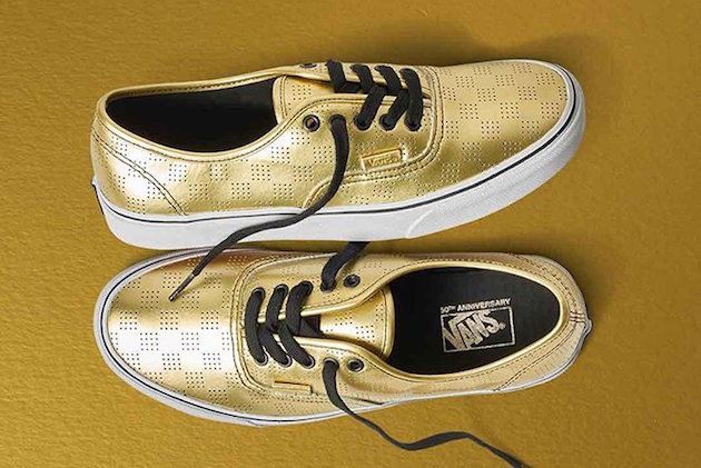 Vans 50th Anniversary Gold Collection 01