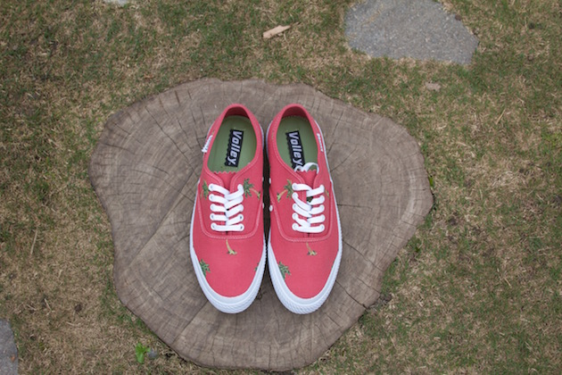 Volley OC Palm Tree Red 01