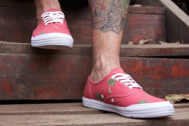 Volley OC Palm Tree Red 02