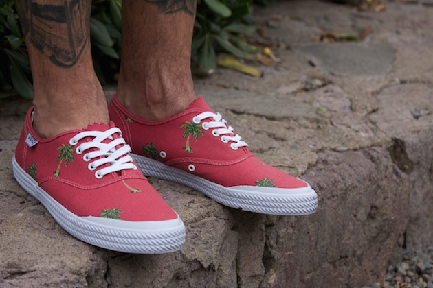 Volley OC Palm Tree Red 06