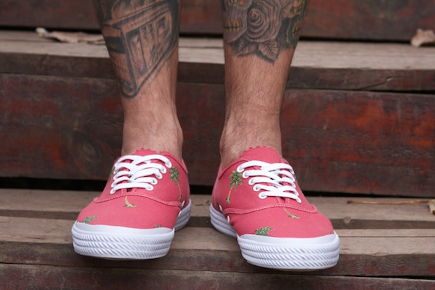 Volley OC Palm Tree Red 12