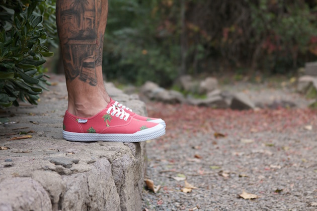 Volley OC Palm Tree Red 15