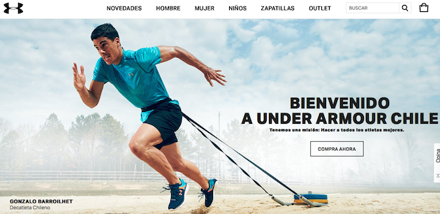 Under Armour Ecommerce 01