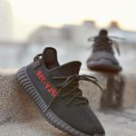 """Adidas Yeezy Boost 350 V2 """"Core Black/Red"""" en Chile"""