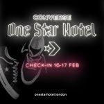 "Converse ""One Star Hotel"""