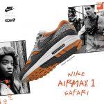"Nike Air Max 1 ""Safari"" x Size?"