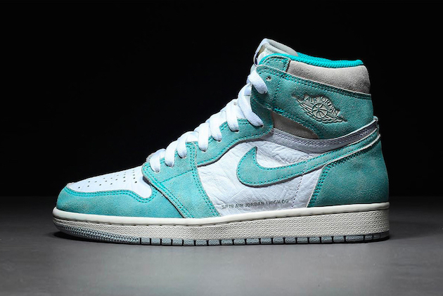 air jordan 1 retro verde agua