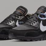 """Nike Air Max 90 """"Black/Cone"""" x Off-White"""