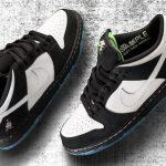 "Nike SB Dunk Low ""Panda Pigeon"" x Staple"
