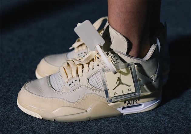 Air Jordan 4 X Off White Mis Tillas